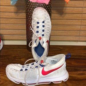 Nike KD white 9.5